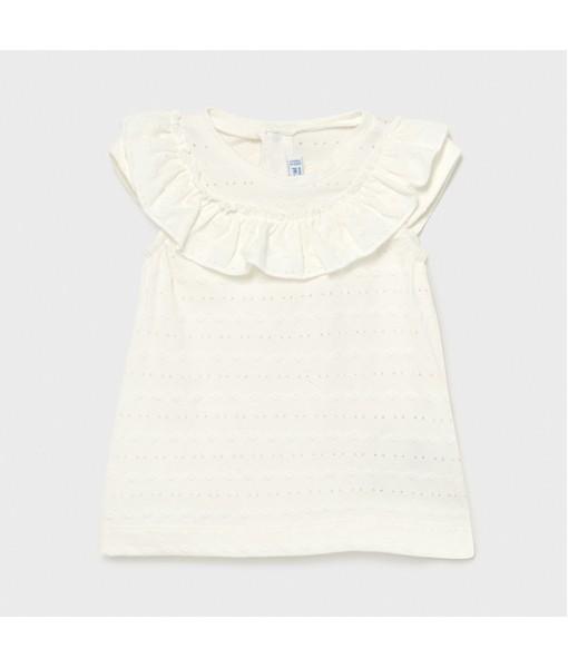 Μπλούζα βολάν baby κορίτσι Mayoral 21-01086-074