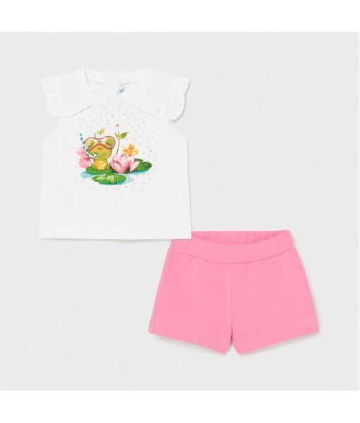 Σετ σορτς baby κορίτσι Mayoral 21-01230-083
