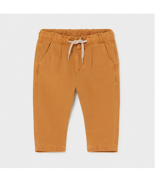 Παντελόνι λινό casual baby αγόρι Mayoral 21-01580-085