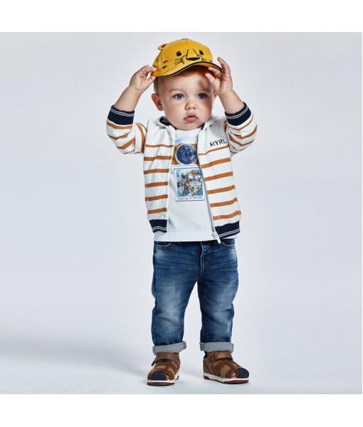 Παντελόνι soft denim Ecofriends baby αγόρι Mayoral 21-01586-040
