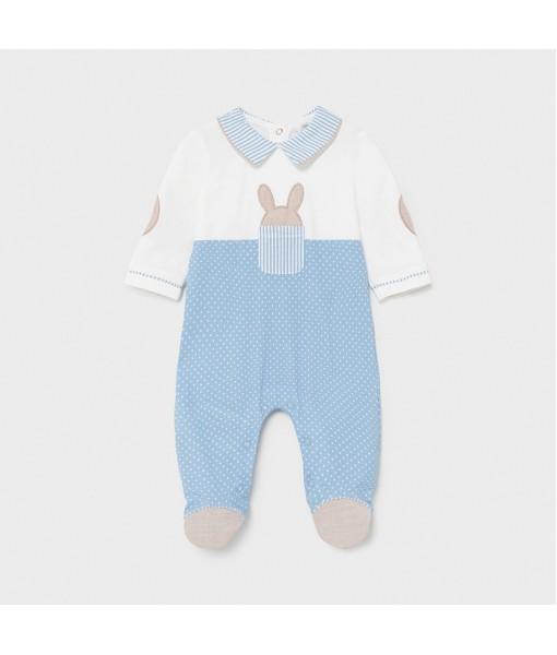 Φορμάκι πυτζαμάκι νεογέννητο αγόρι Mayoral 21-01622-011