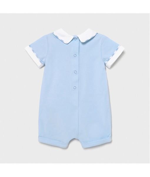 Φορμάκι πυτζαμάκι κοντό νεογέννητο αγόρι Mayoral 21-01623-015