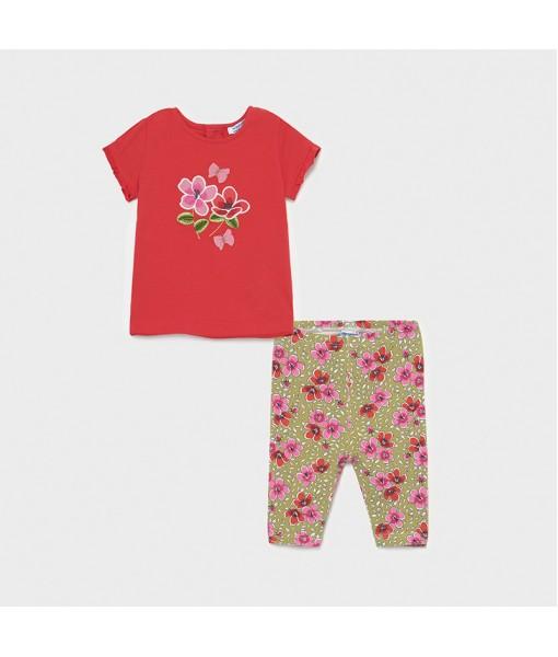 Σετ κολάν κάπρι σταμπωτό baby κορίτσι Mayoral 21-01714-024