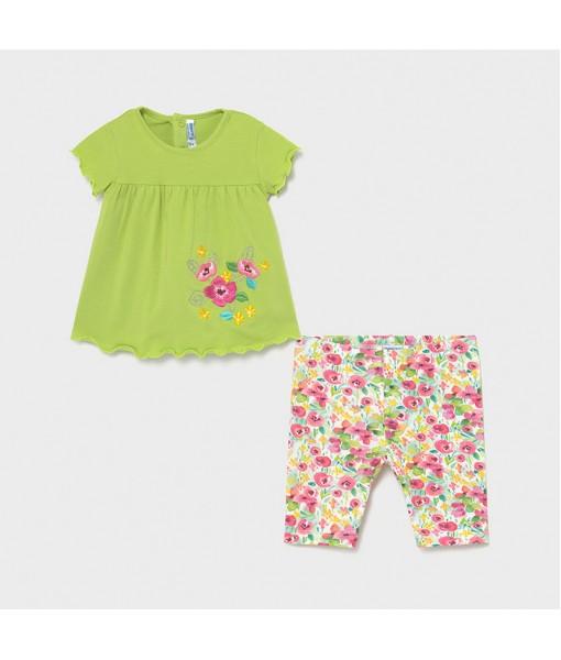 Σετ κολάν κάπρι Ecofriends baby κορίτσι Mayoral 21-01718-002
