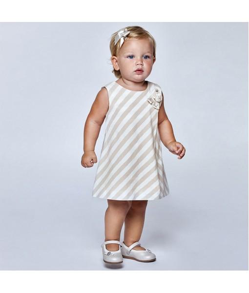 Φόρεμα ριγέ baby κορίτσι Mayoral 21-01964-072