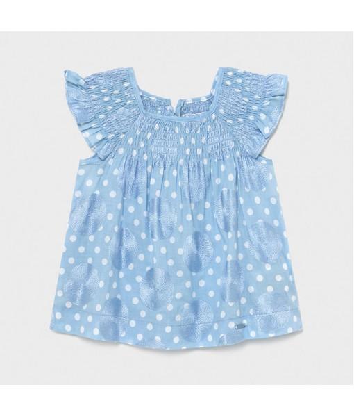Φόρεμα πουά baby κορίτσι Mayoral 21-01982-007