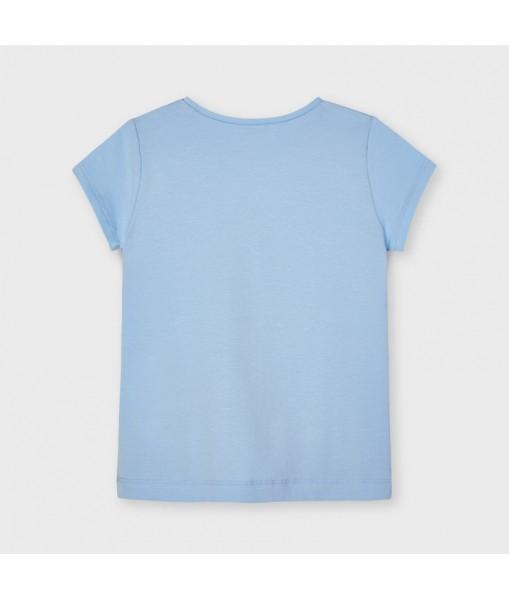 Μπλούζα κοντομάνικη Ecofriends μεταξοτυπία κορίτσι 21-03020-010