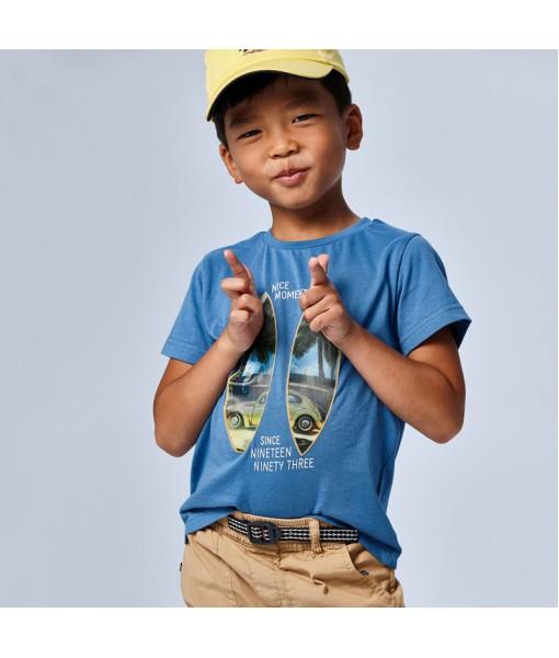 Μπλούζα κοντομάνικη PLAY WITH 3D αγόρι Mayoral 21-03030-055
