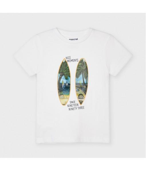 Μπλούζα κοντομάνικη PLAY WITH 3D αγόρι Mayoral 21-03030-056