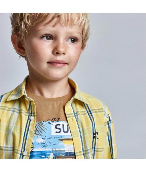 Μπλούζα Surf βιώσιμο βαμβάκι Ecofriends αγόρι Mayoral 21-03031-060
