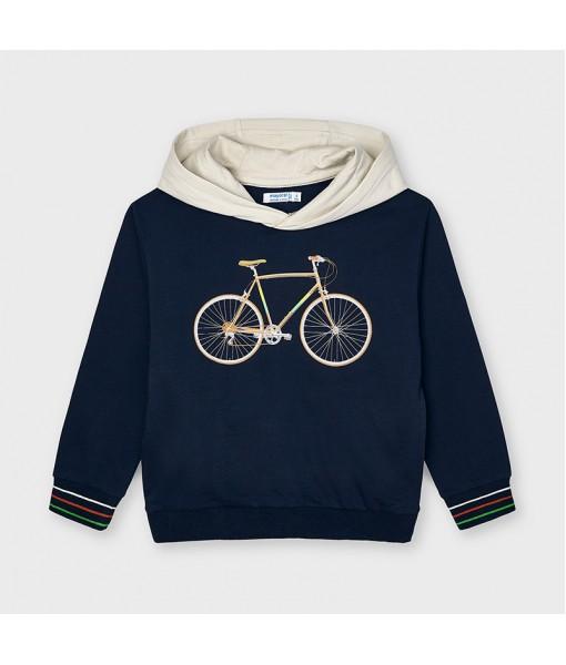 Φούτερ κουκούλα ποδήλατο αγόρι Mayoral 21-03403-019