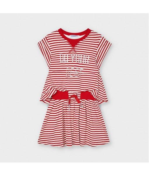 Φόρεμα ρίγες κορίτσι Mayoral 21-03966-065