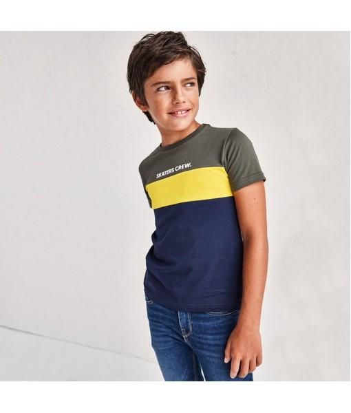 Μπλούζα κοντομάνικη βιώσιμο ύφασμα αγόρι Mayoral 21-06094-041