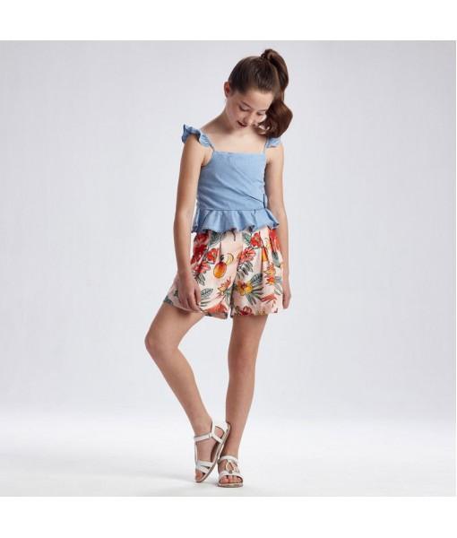 Παντελόνι κοντό τύπου σορτς κορίτσι Mayoral 21-06297-006