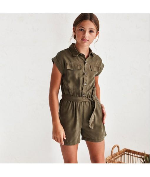 Φόρμα ολόσωμη κοντή κορίτσι Mayoral 21-06819-077