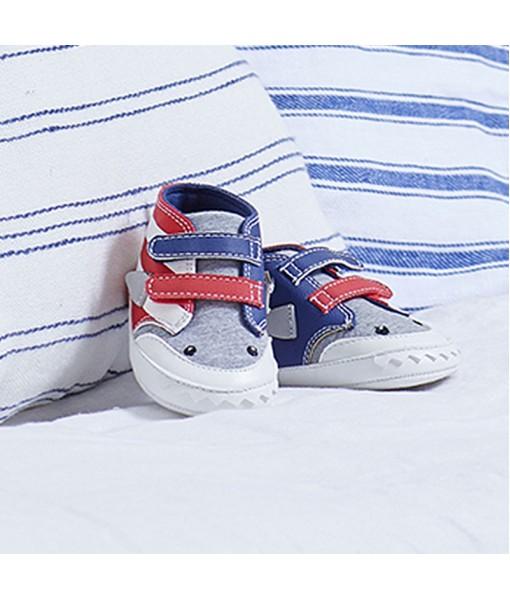 Παπουτσάκια αγκαλιάς αθλητικά Νεογέννητο αγόρι Mayoral 21-09398-028