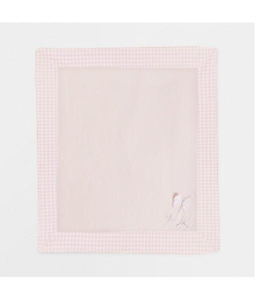 Κουβέρτα νεογέννητο κορίτσι 90cm x 80cm Mayoral 21-09861-064