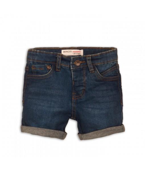 Παντελόνι βερμούδα πεντάτσεπο τζιν αγόρι Minoti 1DSHORT6