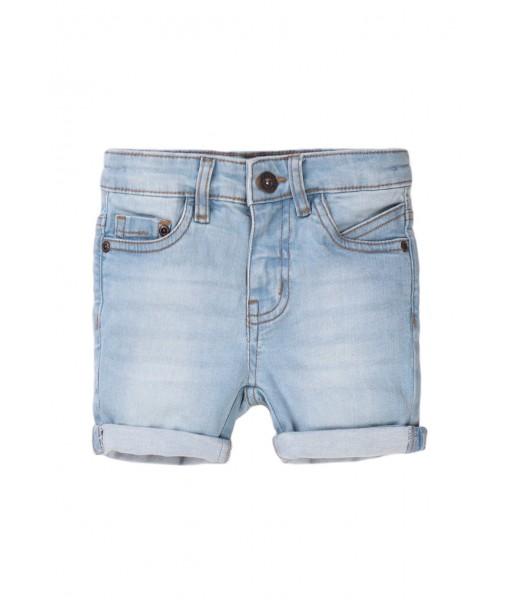Παντελόνι βερμούδα πεντάτσεπο τζιν αγόρι Minoti 5DSHORT1