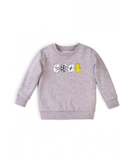 Μπλούζα μακρυμάνικη φούτερ λεπτό αγόρι Minoti 5TFCREW1
