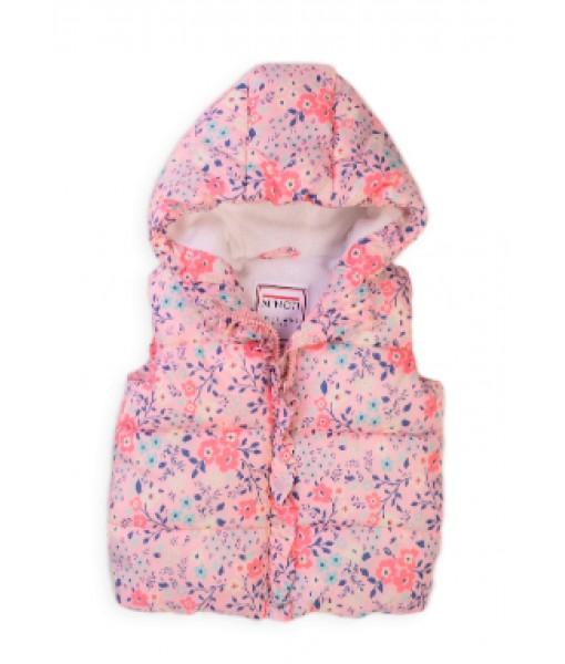Αμάνικο μπουφάν Minoti μικρό κορίτσι 8GGILET6