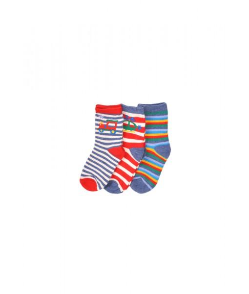 Σετ 3 ζευγάρια κάλτσες Minoti αγόρι TBSOCK38