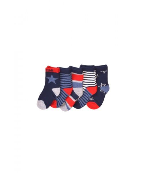 Σετ 5 ζευγάρια κάλτσες Minoti αγόρι TBSOCK44