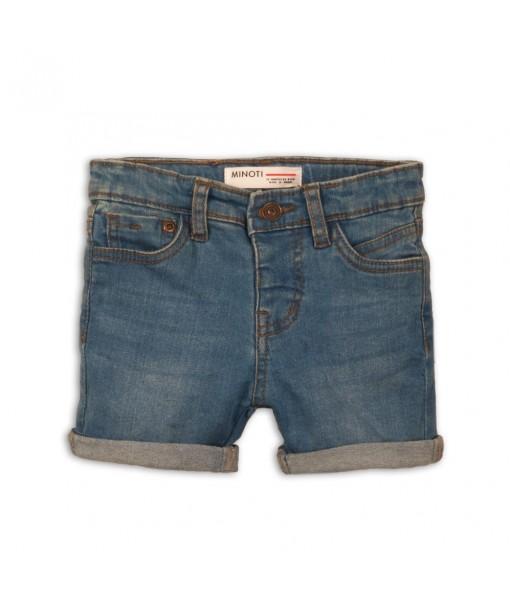 Παντελόνι βερμούδα πεντάτσεπο τζιν αγόρι Minoti 1DSHORT4