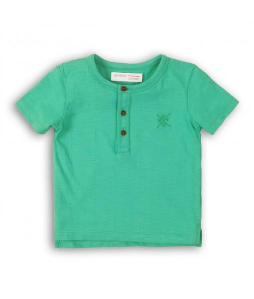 Μπλούζα κοντομάνικη αγόρι Minoti 1HENLEY5