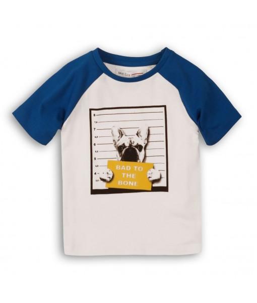 Μπλούζα κοντομάνικη baby αγόρι Minoti 1TRAGLN2
