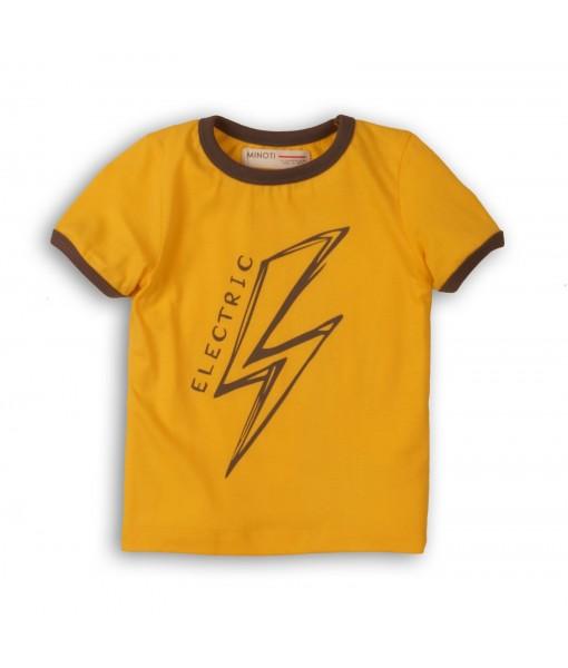 Μπλούζα κοντομάνικη baby αγόρι Minoti 1TRING1