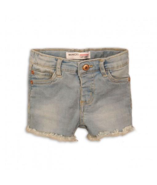 Παντελόνι σορτς πεντάτσεπο τζιν κορίτσι Minoti 2DΝΜSHORT3