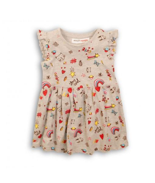 Φόρεμα κορίτσι Minoti 2TDRESS4