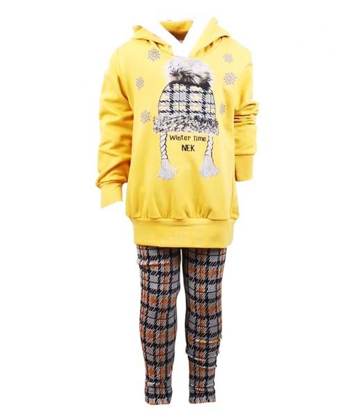 Σετ κολάν και μπλούζα Νek Kids Wear κορίτσι 132219