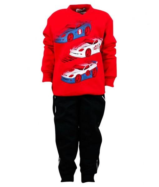 Σετ φόρμα Nek Kids Wear αγόρι κόκκινο 141019