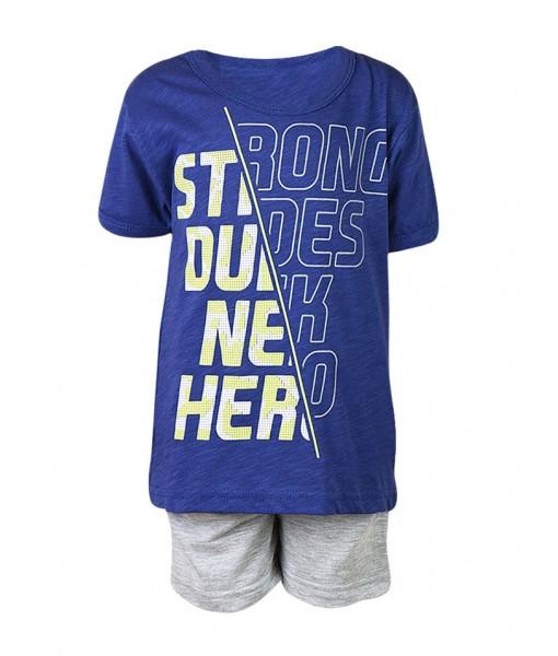 Σετ βερμούδα και μπλούζα αγόρι N41419