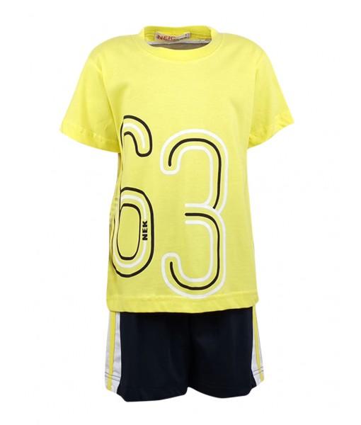 Σετ μπλούζα και βερμούδα αγόρι Nek 42120