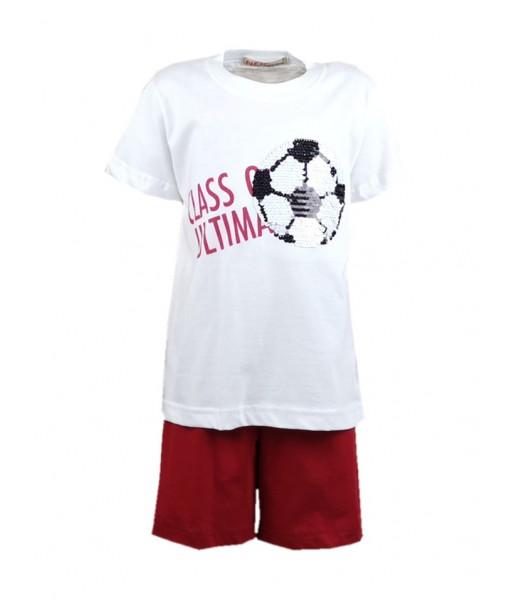 Σετ μπλούζα και βερμούδα αγόρι Nek 42820