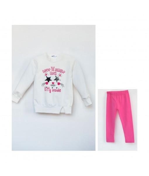 Σετ κολάν και μπλούζα Νek Kids Wear κορίτσι 131020
