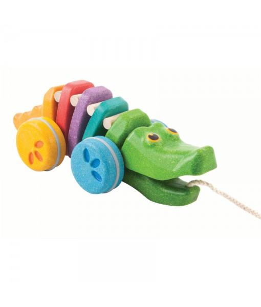 Κροκόδειλος που κινείται – ουράνιο τόξο Plan Toys 1416