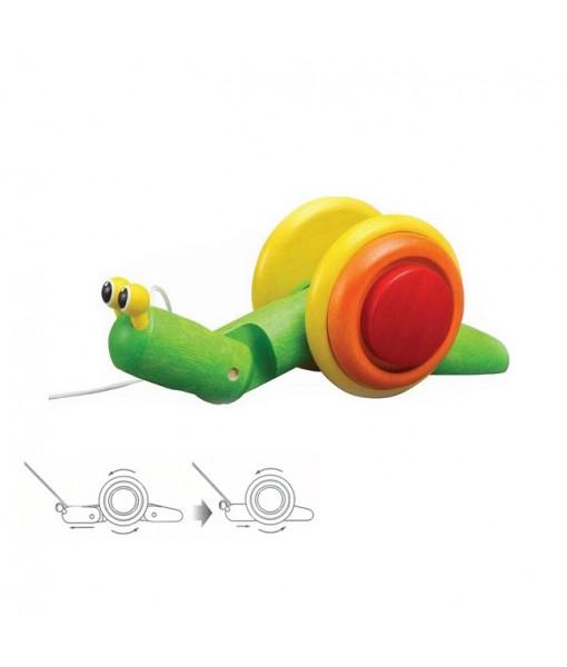 Σαλιγκάρι που κινείται Plan Toys 5108
