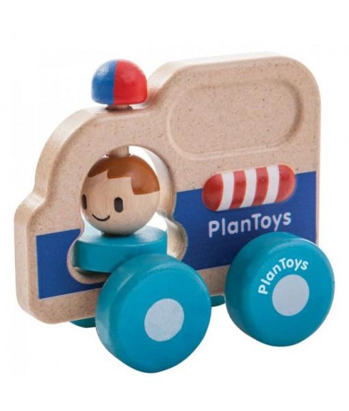 Αυτοκίνητο διάσωσης Plan Toys 5686