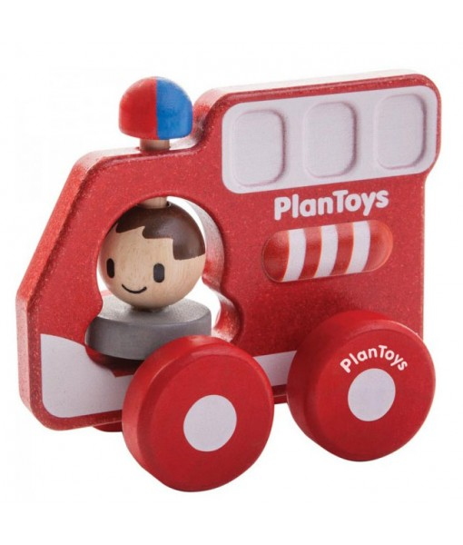 Πυροσβεστικό όχημα Plan Toys 5687