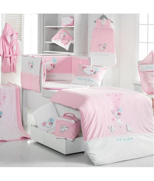 3061 DOLLY Μπουρνούζι - Ροζ